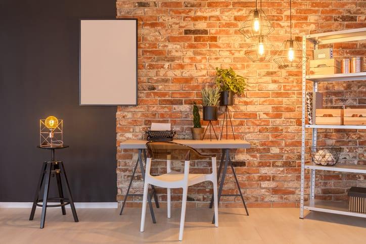 Minimalist industrial interior design