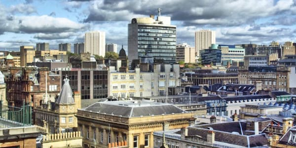 The Glasgow City Skyline