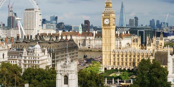 Big Ben and the London Sky Skyline