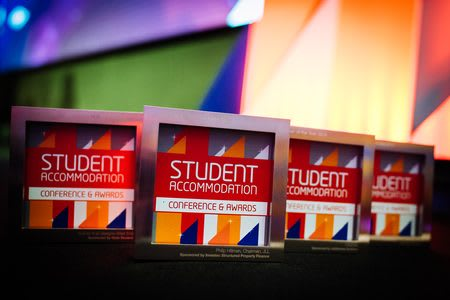 A collection of Student Accommodation Awards won by Nido Student