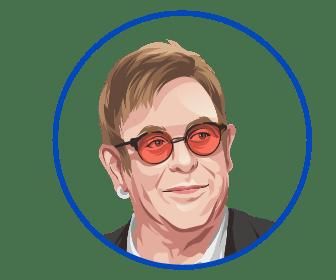 Elton John Round