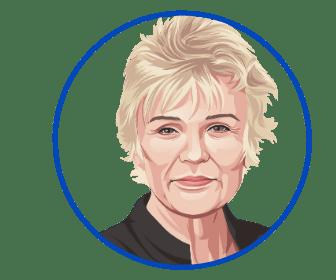Julie Walters Round