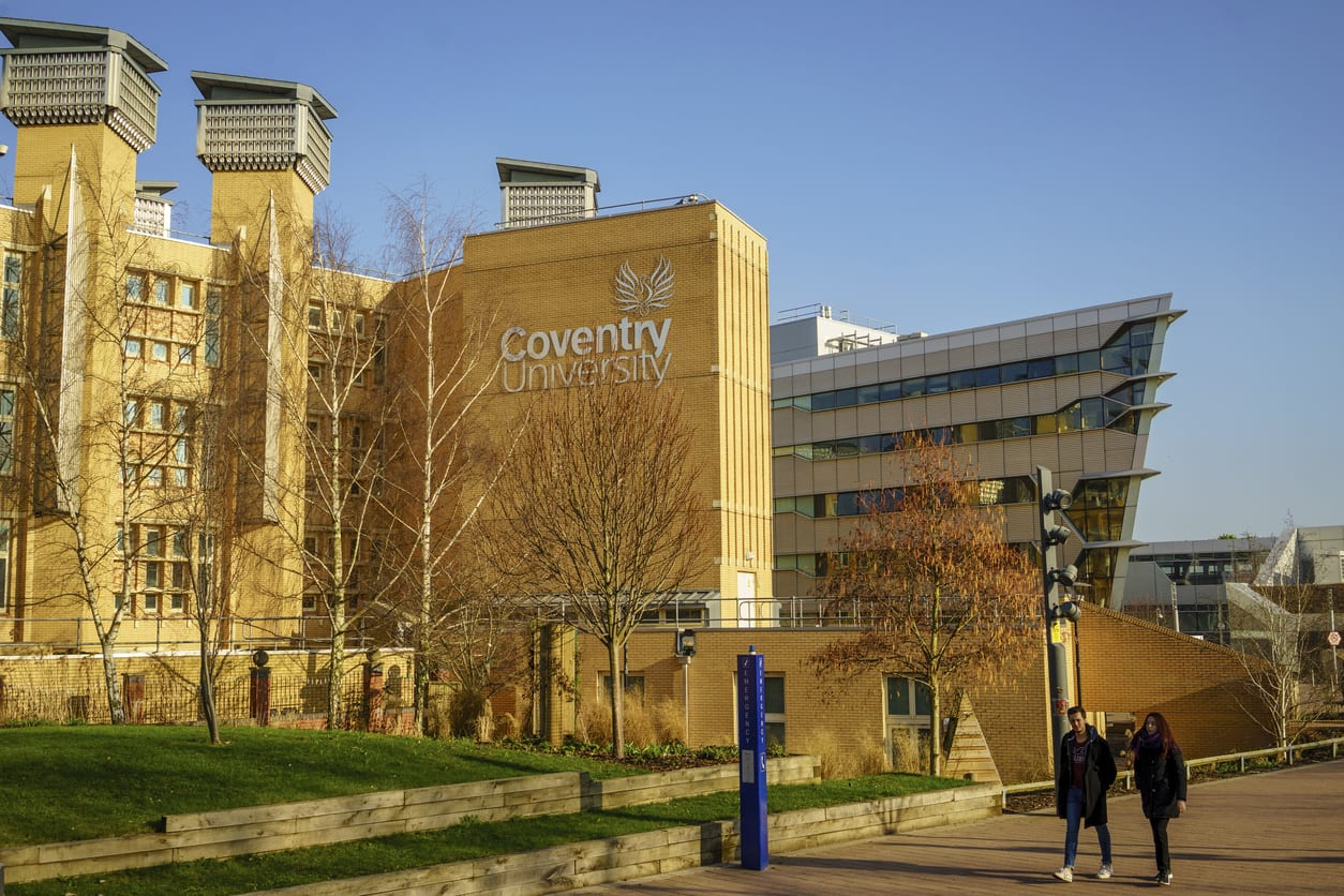 Visit Coventry University online