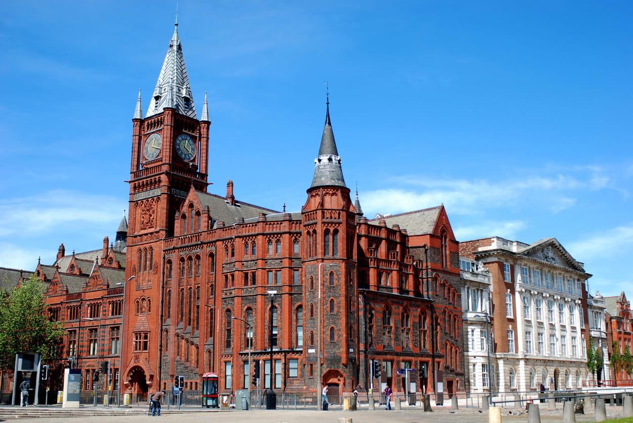 Tour university of Liverpool online