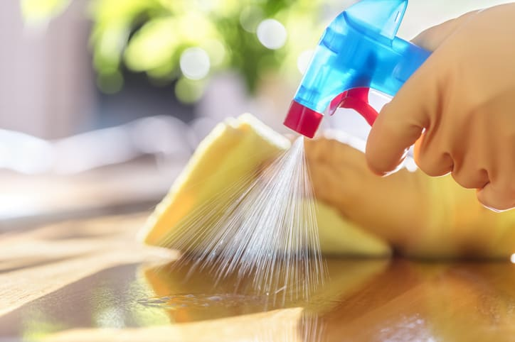 cleaning surfaces