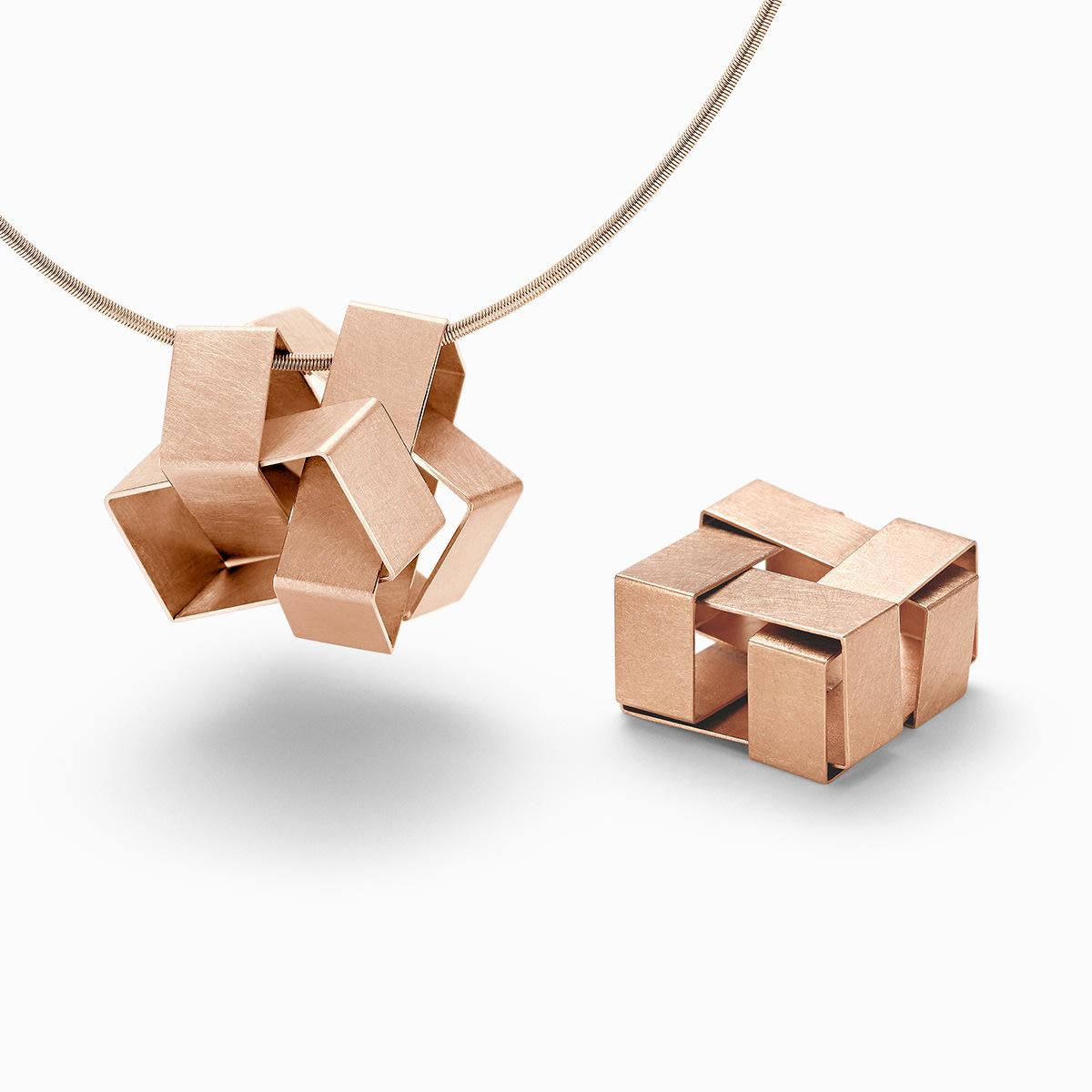 Niessing Cube Pendant