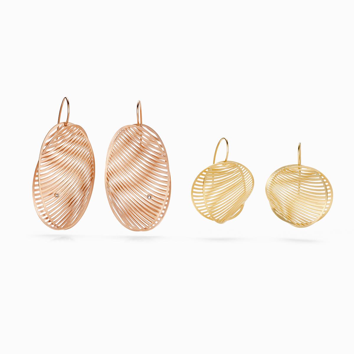 Niessing Mirage Earrings Round