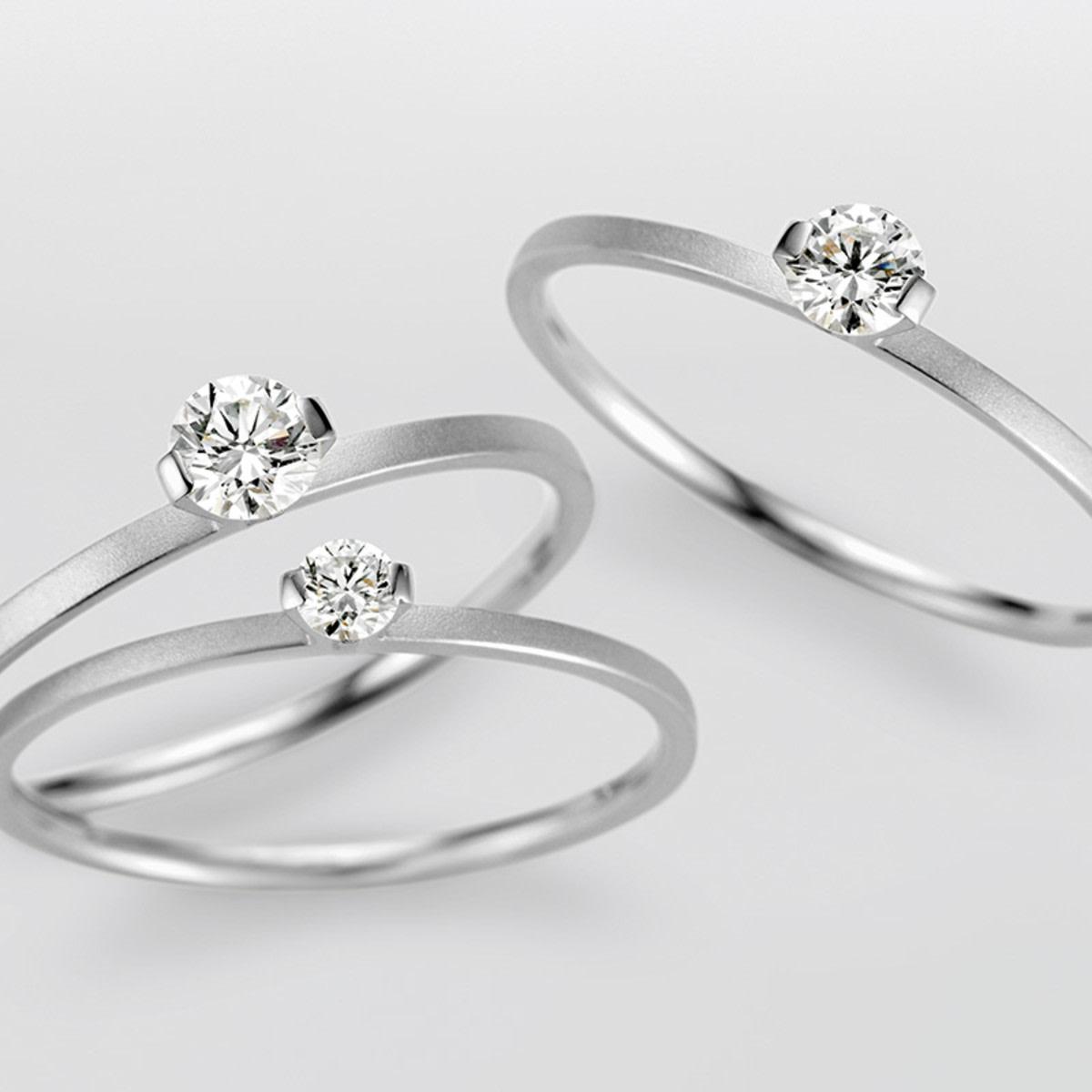 Niessing engagement ring Princess