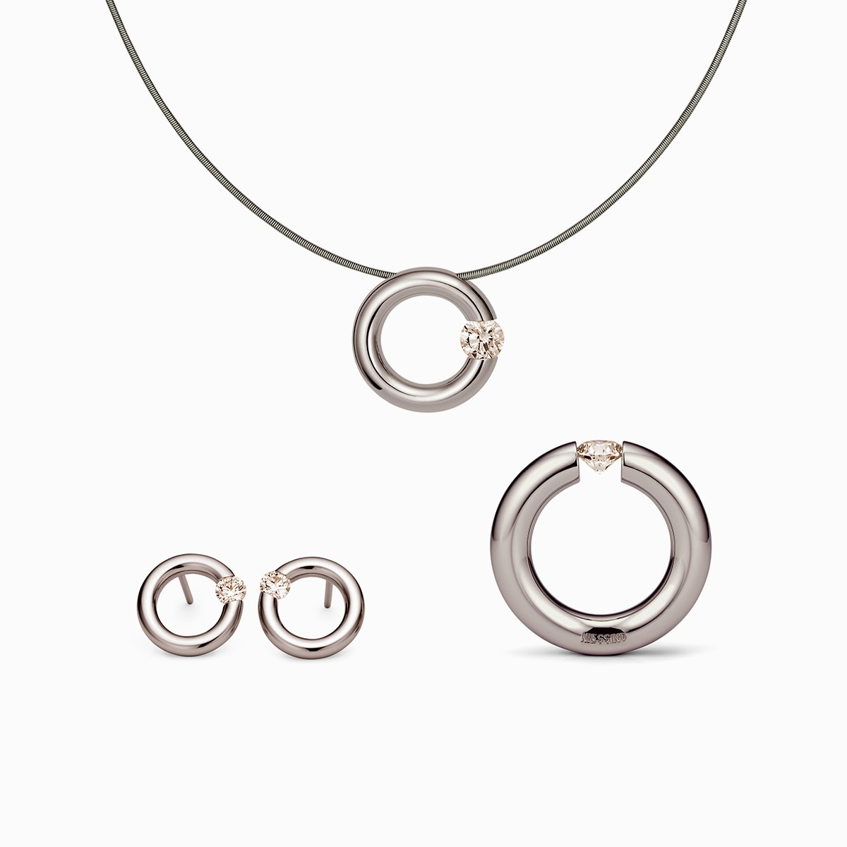 NIESSING SPANNRING® PENDANT COLOR LIMITED EDITION