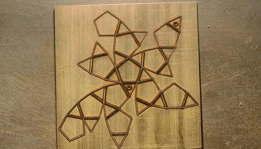 Crystallite pattern