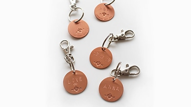 Personalized Niessing Key Ring