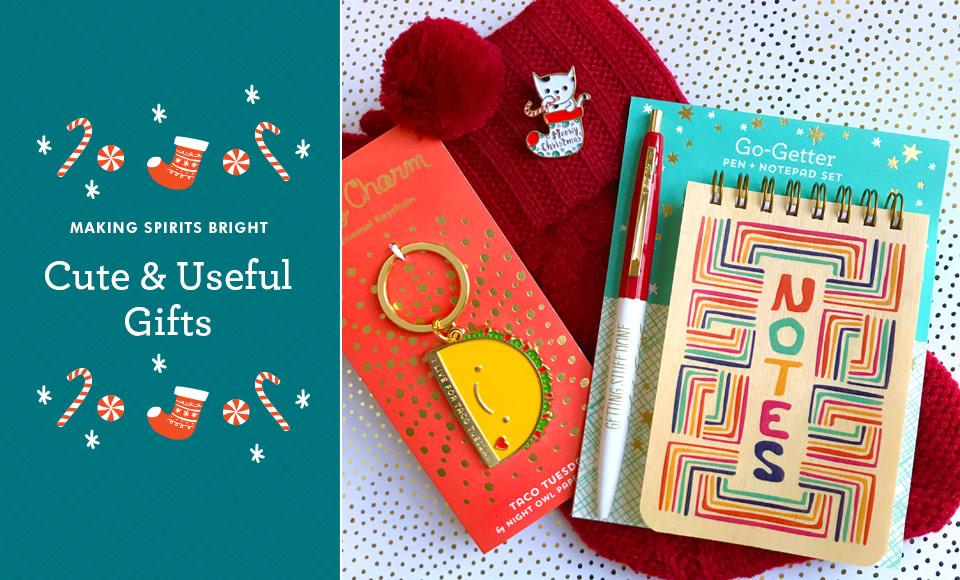 Cute & useful gifts.
