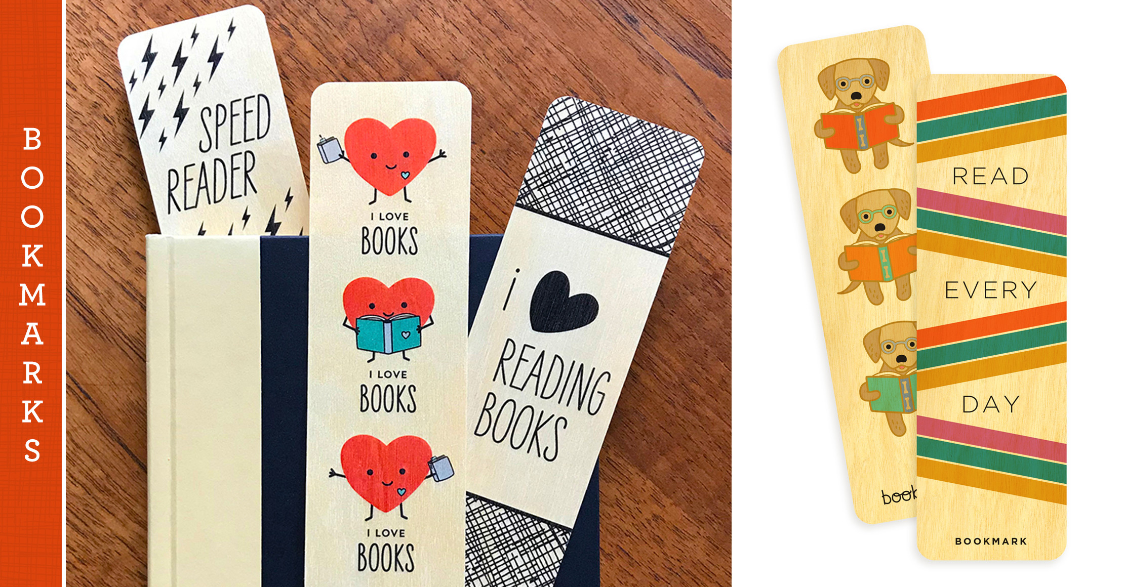Real Wood Bookmarks