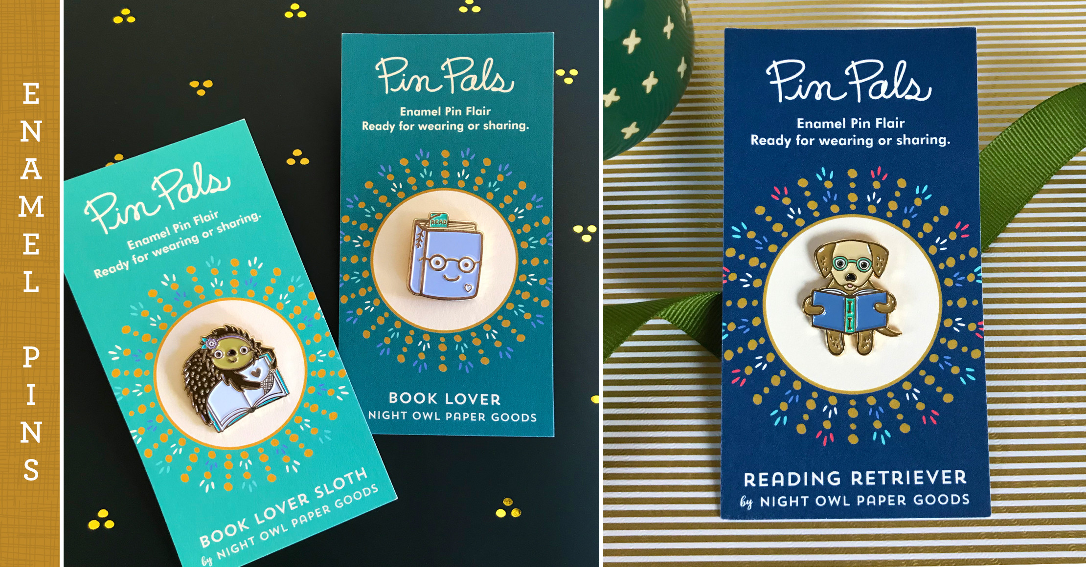Pins for Book Lovers