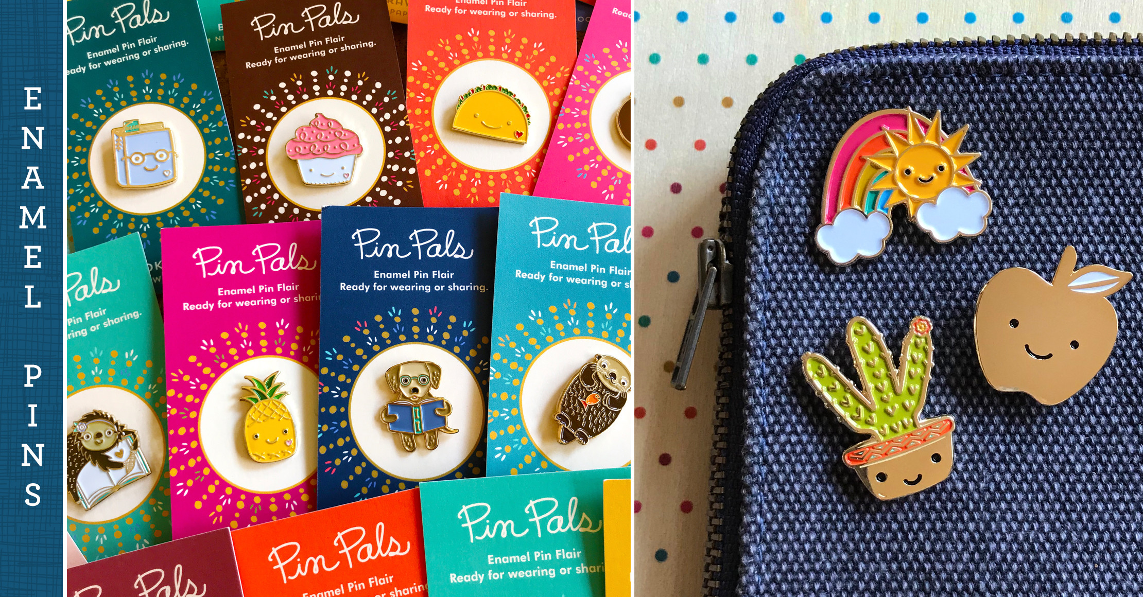 Tweens and more adore enamel pins!
