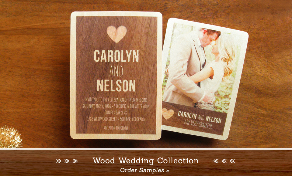 Real Wood Wedding Suites