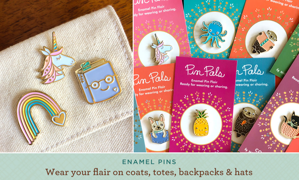 Everyone loves enamel pins!