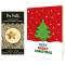 Happy Tree Holiday Cards & Gold Star Enamel Pin Set