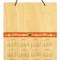 "(Wall Calendar) 8"" x 10"" * 5 Designs: Front Design: Folksy Floral"