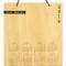 "(Wall Calendar) 8"" x 10"" * 5 Designs: Front Design: Edgy"