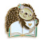 Book Lover Sloth