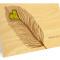 Heart Feather Folded Thank You Card: Kiwi
