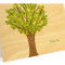 Leafy Tree Folded Thank You Card: Spring