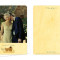 Mr & Mrs Hoot Photo Thank You Card: Charcoal