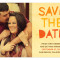 Paper Cut Letters Save the Date : Apricot