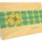 Plaid Dogwood Folded Thank You Card