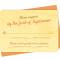 Sullivan Reply Card: Persimmon