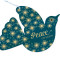 Dove Ornament: Front