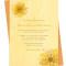 Yellow Daffodils Invitation