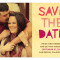 Paper Cut Letters Save the Date : Raspberry