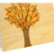 Leafy Tree Folded Thank You Card: Fall