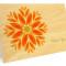 Gem Daisy Folded Thank You Card: Sunny