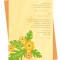 Hibiscus Invitation: Apricot