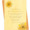 Yellow Daffodils Invitation