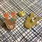 Reindeer Wood Ornament Cards & Enamel Pin Set