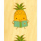 Poetry Pineapple • Bookmark