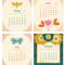 2020 Flora Fauna Desk Calendar: May - August