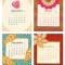 2020 Flora Fauna Desk Calendar: September - December