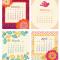 2020 Flora Fauna Desk Calendar: January - April