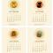 2020 Critter Desk Calendar: September - December