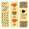 Crazy About Reading Bookmark Set