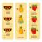 Fun & Fruity Bookmark Set
