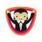 Vampire: Removable Vinyl Sticker