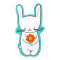 Easter Bunny: Removable Vinyl Sticker