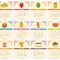 2021 Fun Food Desk Calendar: 12 Months