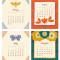 2021 Flora Fauna Desk Calendar: May - August
